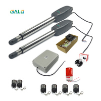 Remote Control Dual Swing Gate Opener With Two Arms