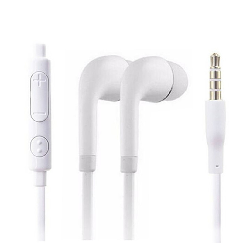 High Quality 3.5mm S4 In-Ear Earphones Bass Headset With Mic For Iphone Mp3 Samsung Xiaomi Huawei PK Bluetooth Earphone S8 Am115 m400 3 5mm in ear bass earphones headphones music headset earbuds with microphone for iphone samsung xiaomi huawei htc mp3