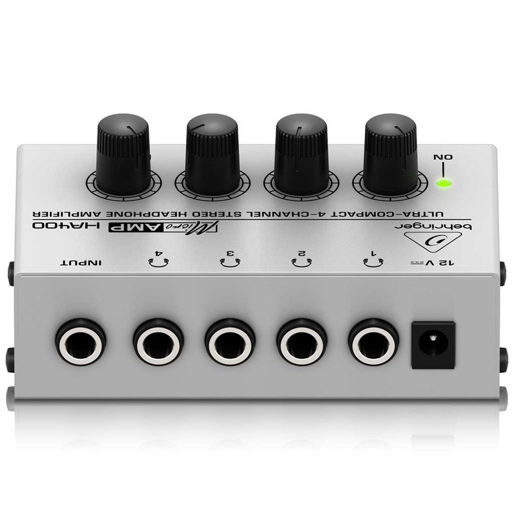 Behringer Ha400 4 Channel Stereo Headphone Amp Recording Studio Gear Band Monito In Headphone Amplifier From Consumer Electronics On Aliexpress Com