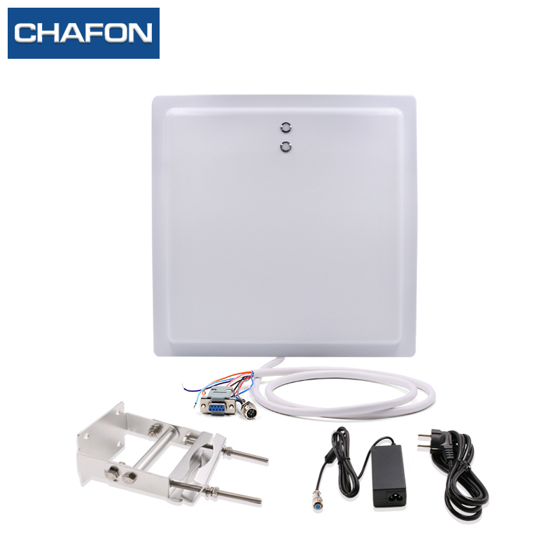 CHAFON 15M uhf rfid card reader long range IP65 with RS232 WG26 interface with led indicator provide free SDK for parking lot цены онлайн