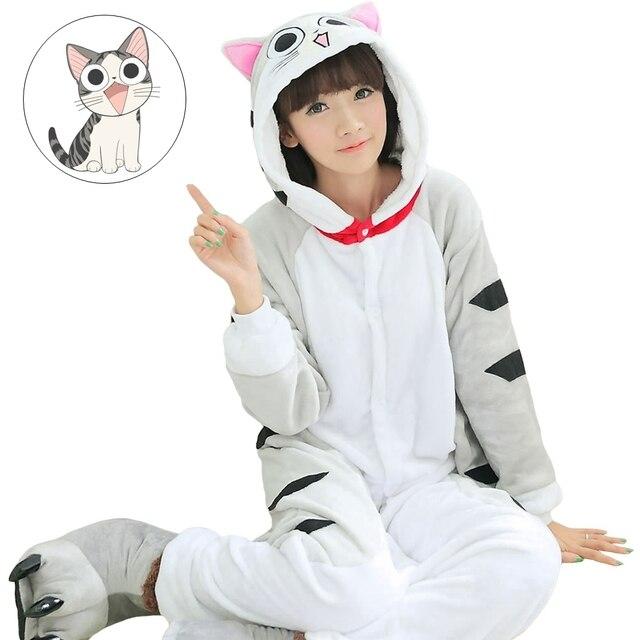 92723b845e Cheese Cat Kengurumi Units Onesie Adult Pyjamas Animal Womens Pajamas  Pijama Pijamas Pyjama Sleepwear For Men Women
