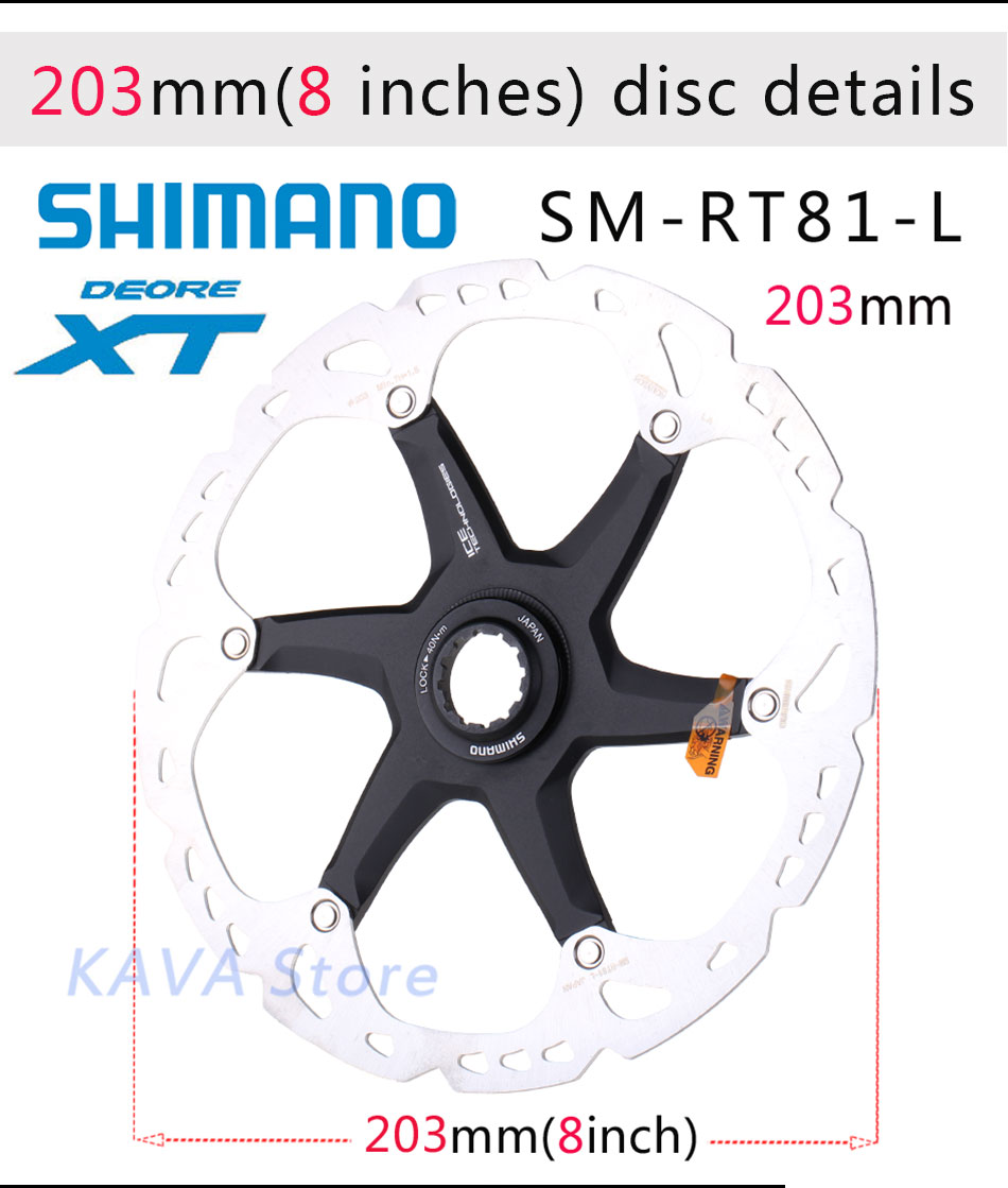 3d35875de74b Detail Feedback Questions about SHIMANO DEORE XT SM RT81 ice Point ...