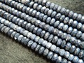 Free shipping (94 beads/set/52g)  natural 4-4.5*7.5-8mm faceted rondelle  sapphire  stone beads