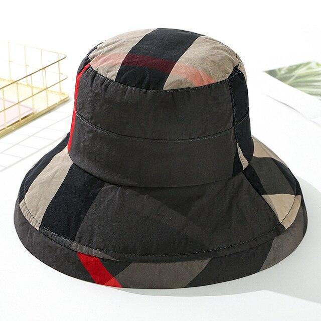 Bucket Hat Women Summer Cap...