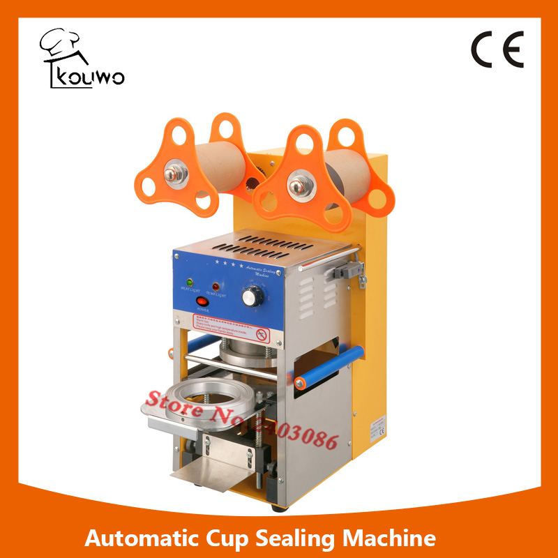 KW-F06 Automatic sealing package machine for plastic cup food sealer machine for sales
