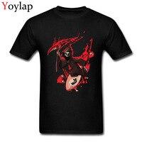 Satanic Robin T Shirt For Men Cool Summer Tops Shirt Short Sleeve Funky Casual Tee Shirts