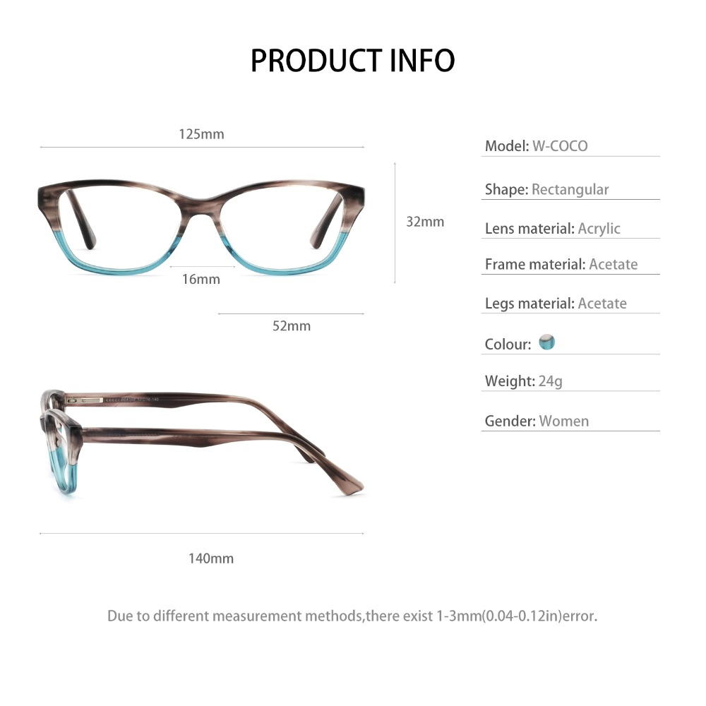 OCCI CHIARI 2018 New Fashion Women Eyeglasses Anti blue light ...