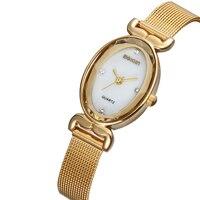 WEIQIN Brand Luxury Designer Crystal Gold Watches Women Fashion Ladies Bracelet Quartz Watch Shock Waterproof For