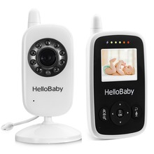 Hello Baby HB20 Wireless Video Baby Monitor with Digital Camera , Night Vision Temperature Monitoring & 2 Way Talkback System