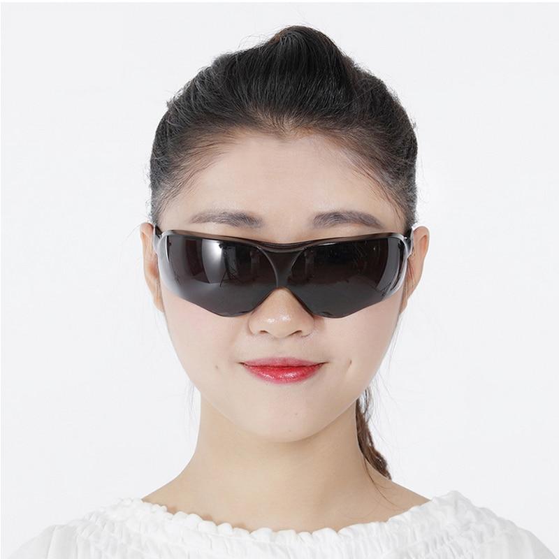 3M 10435 Keselamatan Potective Black Goggles Glasses Untuk Anti-UV - Keselamatan dan keamanan - Foto 6