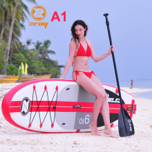 Tabla de surf 300x76x15 cm JILONG Z RAY A1 inflable de la Junta sup stand up paddle Junta surf kayak deporte inflable bote bodyboard(China)