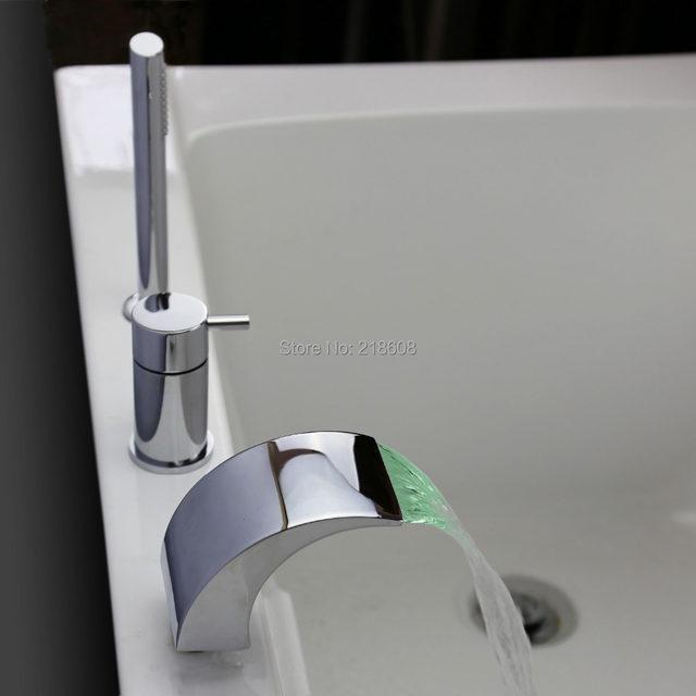 Online Shop Single Handle Bathtub mixer Temperature Controlled ...