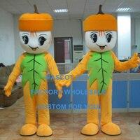 1 piece Hot Sale Pumpkin Doll Baby Mascot Costume Adult Cartoon Character Mascota Outfit Suit Fancy Dress SW811