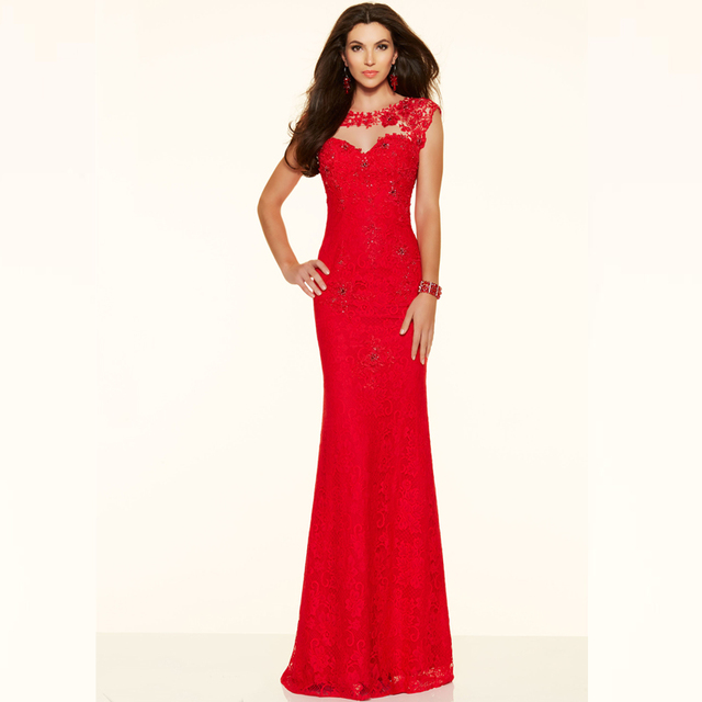 Unique Backless Evening Dresses Gown Tight To Bodice Formal Party ...