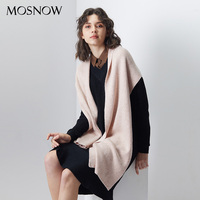 Women Scarf Wool Knitting Warm Scarves Winter Long Shawl Cashmere Autumn 2018 New Brand Solid Thicken Shawl Cachecol For Female