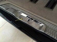 Подкладке Сталь задняя дверь багажника замки крышки отделка для mercedesz V-класс V класс метрис валенте Viano w447 2014 -2016