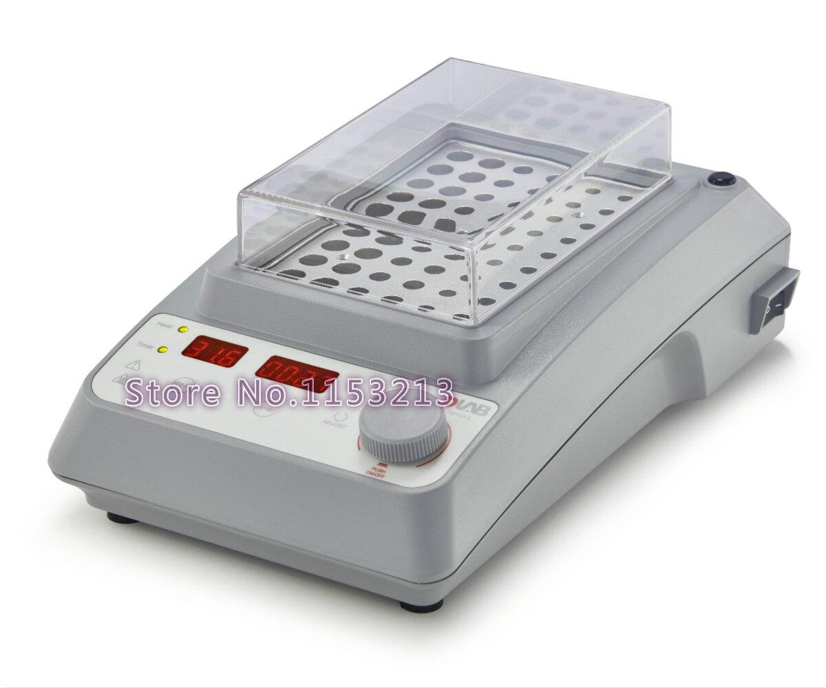 DLab HB120-S Dry bath gamma di controllo della temperatura fino a 120 Gradi Celsius, drago lab LED digital bagno di metallo spina USA