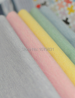 Handmade Cotton Fabric Cloth DIY Fabric Patchwork 5 Basic Colors 1 4 Meter Each Color