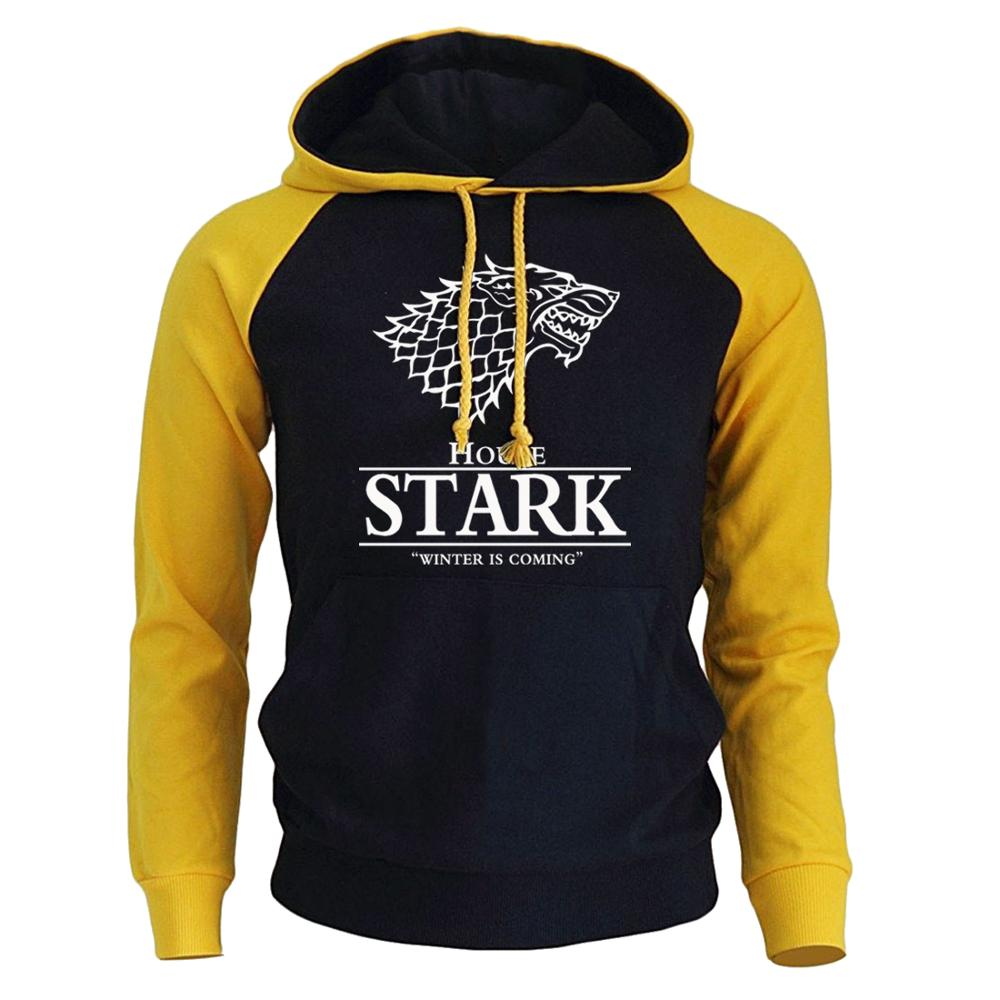 House Stark Winter Is Coming Men's Sportswear Sweatshirt 3