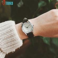 OTOKY Willby Women's Fashion Retro Faux leather Small Dial Quartz Watch 170208 Drop Shipping