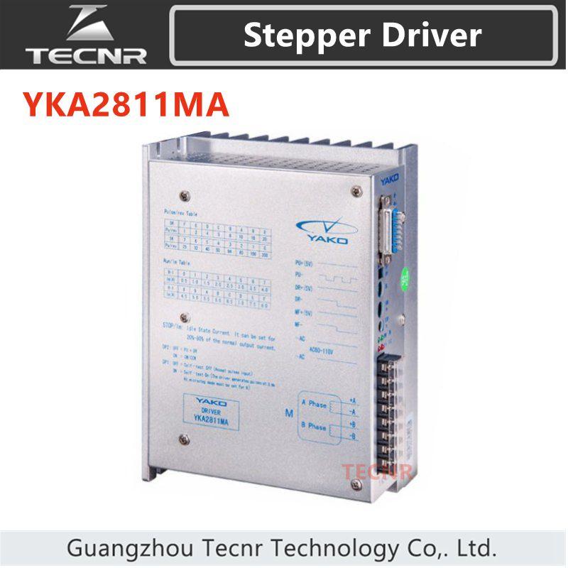 original YAKO YKA2811MA stepper motor driver 60-110VAC 8A цена