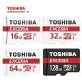Toshiba u3 tarjeta de memoria 128g/64 gb sdxc tarjeta sd micro sdhc-i 32g/16g u1 verificación oficial c10 microsd para el smartphone/tablet