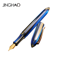 Unique Design Fine Point Fountain Pen 0 5mm Student Ink Pen Luxury Christmas Gift Stationery For