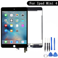 New 7.9'' tablet pc For ipad mini 4 Lcd Screen For ipad mini4 A1538 A1550 lcd display + touch screen assembly EMC 2815 EMC 2824