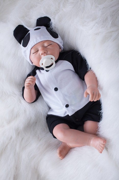 Fake Baby Doll Silicone 20 Real Alive Sleeping Baby Dolls Reborn Soft Cloth Body Dolls For Children Gift Baby Bonecas Reborn Cloth Body Doll Doll Rebornsleeping Baby Doll Aliexpress