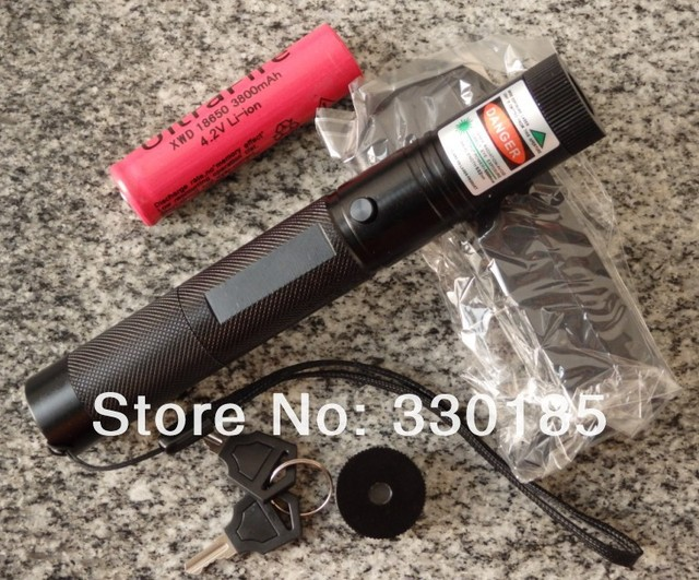 Cost price promotion High-power Military 5000mw/5w 6000m green laser pointers Burning Beam match,burn cigarettes,key+changer+box