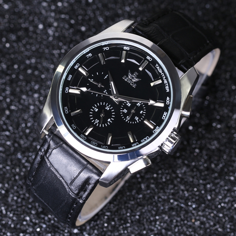 SEWOR Top Brand Luxury Men Watches 6 Hands 3 sub-dials Rotate Military Aviator Automatic Mechanical Watch Pilot Wrist Watches Karachi