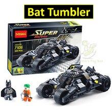 Decool 7105 Tumbler Batman Bat Tumbler Compatible Lepin Super Heroes Batman Building Blocks Toys For Children(China (Mainland))