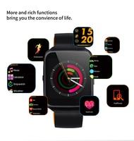 Celiadwn Z40 Bluetooth Smart Watch Blood Pressure Heart Rate Monitor Smartwatch Call Message Reminder Clock Sport