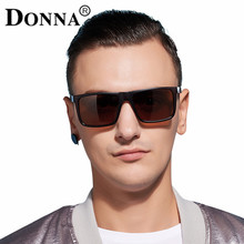 Donna Polarized Men Sunglasses Mirror Oversized Black Square Driver Fishing Sun Glasses Sports HD Lens Womens Designer Mens D54