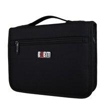 BUBM Portable Organizer System Kit Case Storage Bag Digital Gadget Devices USB Cable Earphone Pen Travel Insert Bag