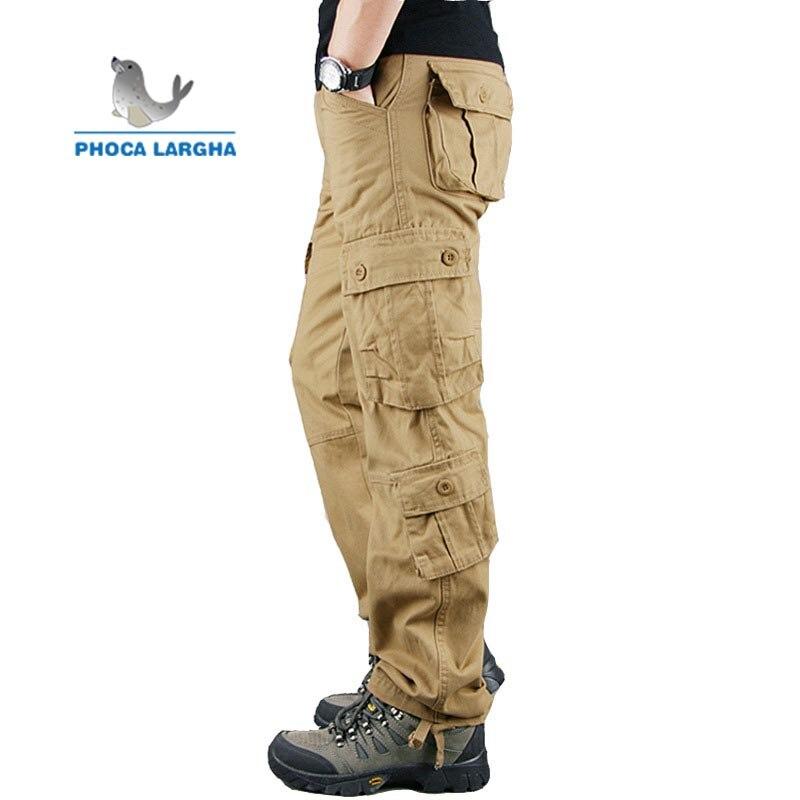 2020 Military Pants Men's Multi-Pocket Outdoor Full Length Sports Tactical Pants Zipper Cargo Pants Men's Pants