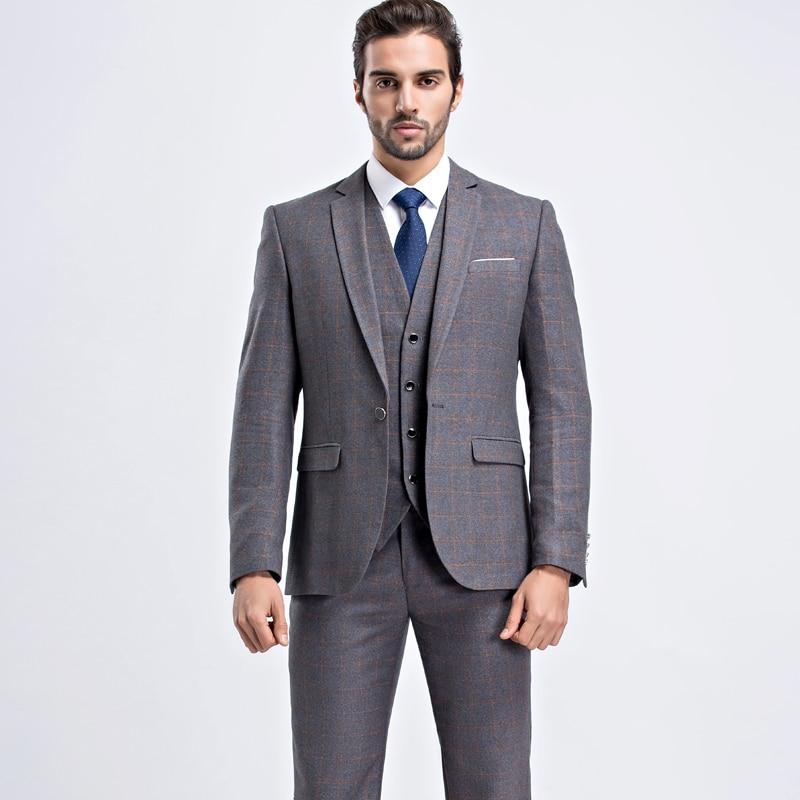 Markyi good quality tuxedo men suit 2017 fashion wedding for Good quality mens dress shirts