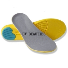 200Pairs/Lot Memory Foam Orthotics Arch Support Shoes Insoles Insert Pads Tool S