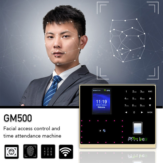 WIFI SilkBio Fast Verification Face Fingerprint Indentification Time Attendance Access  Using Neural Networks Touch Keypad