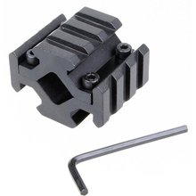 1pcs Universal Barrel Mount Sight clip 4 Rail Picatinny Weaver Rail 4 Slots fit for Scope Optics Lasers hunting accessories(China)