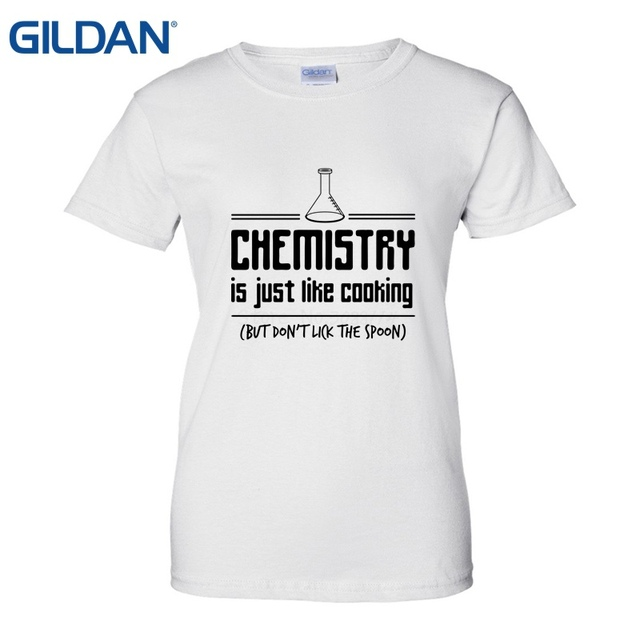 Women Cool Tees Tops Chemistry Is Like T Shirts 2018 Make Online Printing  Near Me Funny Clothing Casual Short Sleeve Tshirts 33c288fecd