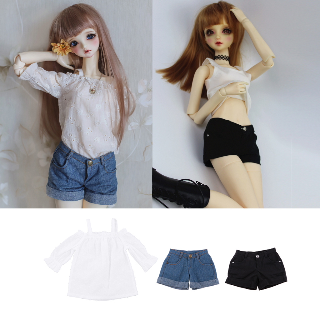 TATA lucky package outfit 1 piece for BJD MSD 1//4 size GIRL doll use