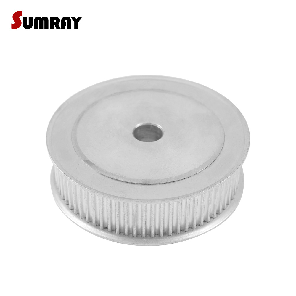 SUMRAY 3M 70T Timing Pulley 8/10/12/14/15/16/19/20mm Inner Bore Gear Belt Pulley 16mm Belt Width Aluminium Motor Pulley цена