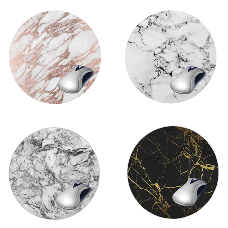 Marble Desk Mat Quality Office Desk Organizer School Supplies High Quality Moon Mouse Desk Tools Office Desk Accessories Set