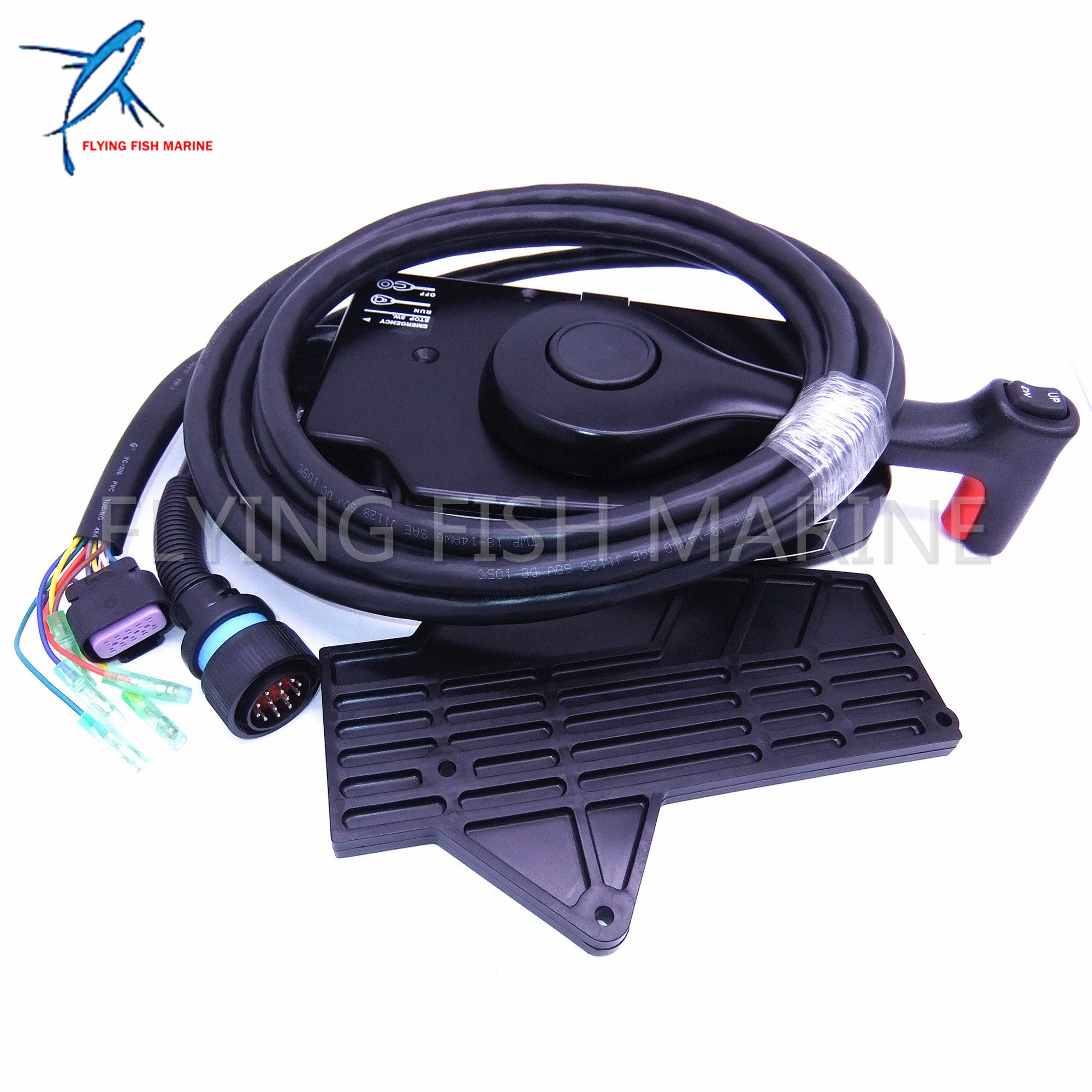 us $170 09 10% off 881170a13 boat motor side mount remote control box with 14 pin for mercury outboard engine 14 pin in boat engine from automobiles \u0026Side Mount Control Box Including Mercury Outboard Remote Control Parts #5