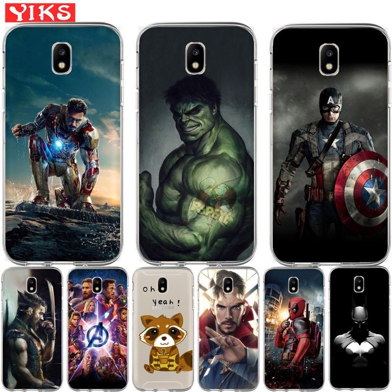 Marvel Avengers Case For Samsung Galaxy J3 J5 J7 2015 2016 2017 J2 ...