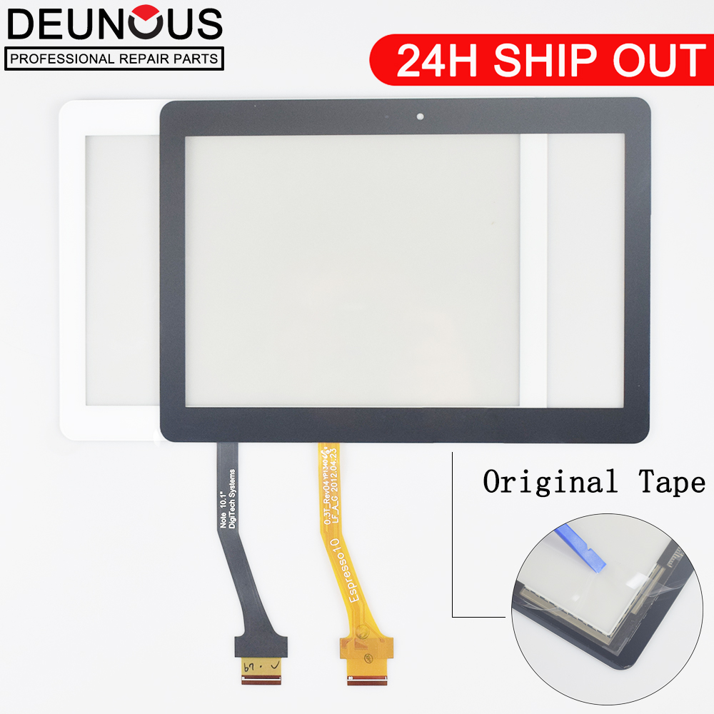 New 10.1'' Replacement For <font><b>Samsung</b></font> Galaxy Tab 2 GT-<font><b>P5100</b></font> <font><b>P5100</b></font> P5110 N8000 Touch Screen Panel Digitizer Assembly Front Glass image