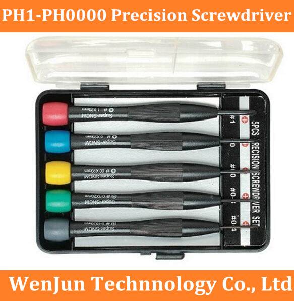 Free Shipping Imported  All Phillips Precision Screwdriver Set For Mobile Phone ,watch, Notebook ,minimum PH0000