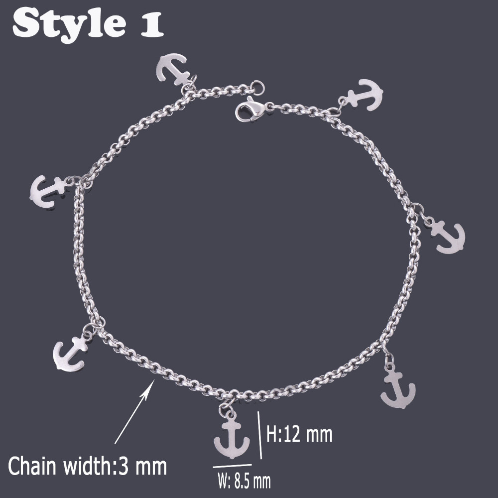 i couple anklet fish bracelet heart my bangles item hook arrow charms tone jewelry bracelets fishhook initial s silver steel bangle love husband in stainless from cupid