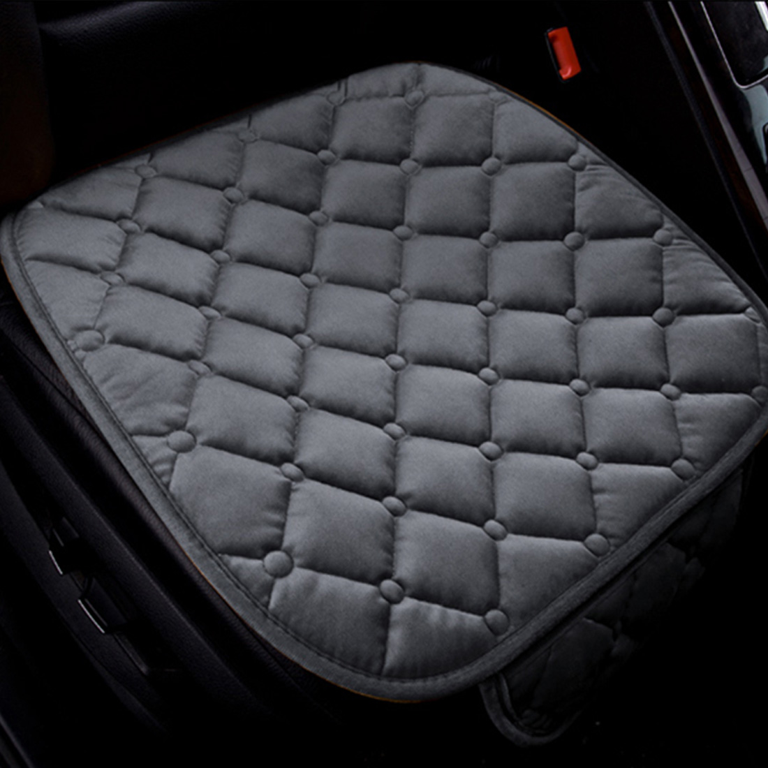 Dewtreetali Velvet Front Car Seat Cover Breathable Winter Seat Cushion Protector Auto Accessories Car styling Universal for Cars